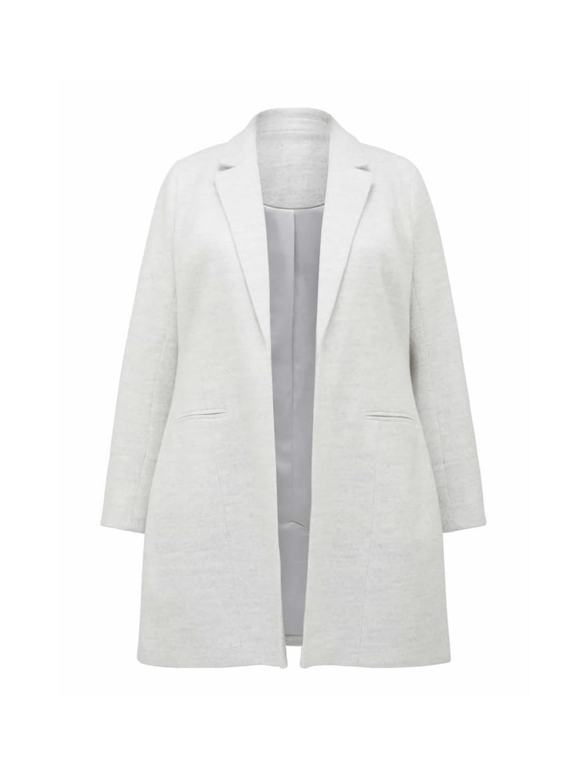 Mika Curve Luxe Wool-Blend Coat