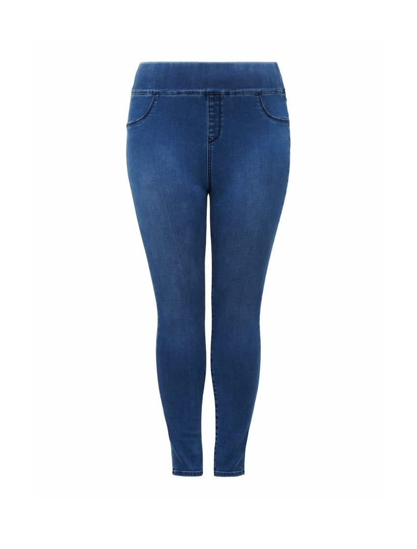 Charlotte Curve High-Rise Jeggings