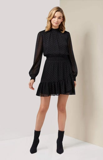 Callie Skater Mini Dress