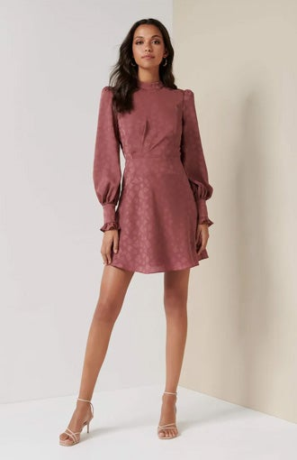 Esme Jacquard Mini Dress