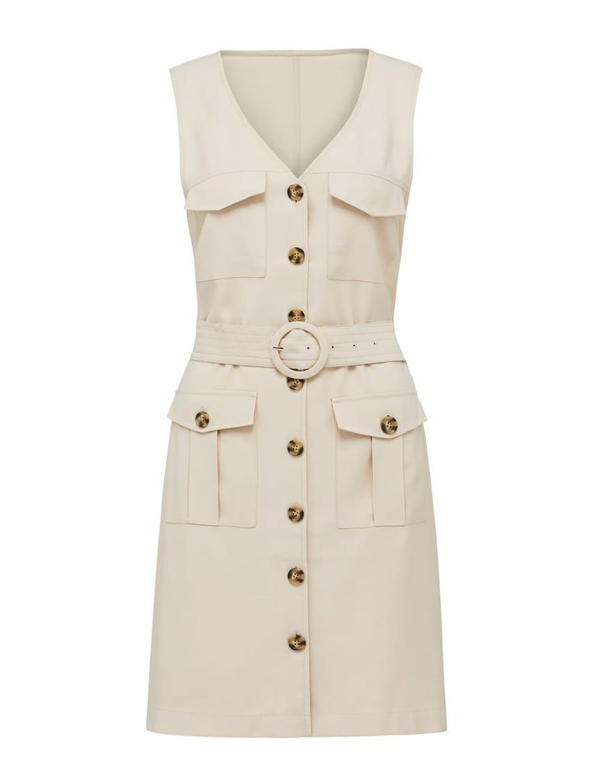 Brianna Utility Mini Dress
