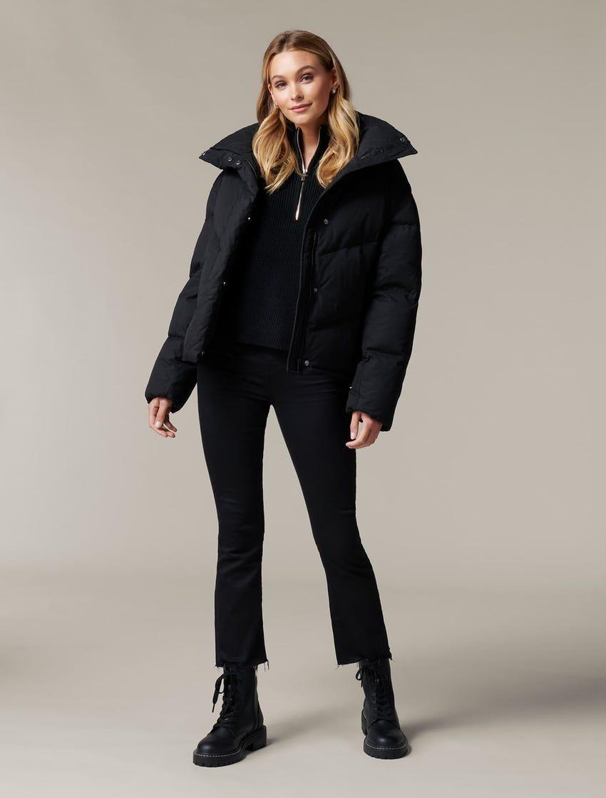 Jenny Cropped Puffa Jacket