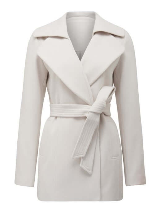 Ava Short Wrap Coat