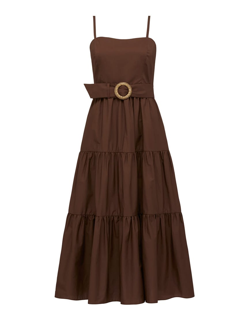 Dalia Cotton Maxi Dress