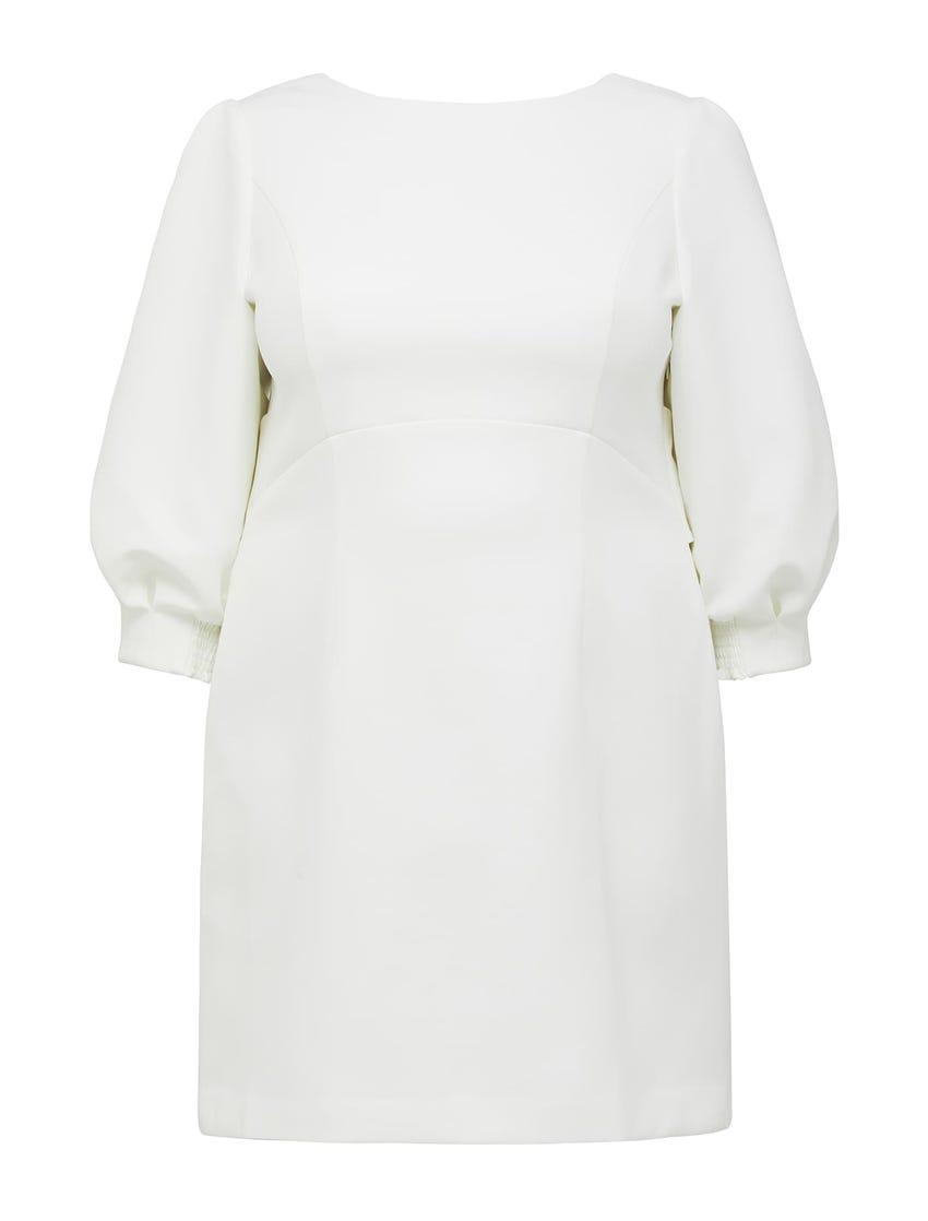 Sasha Curve Bow Back Mini Dress