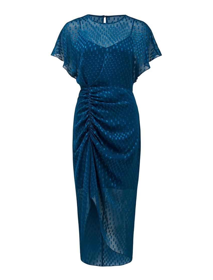 Tamara Ruched Midi Dress
