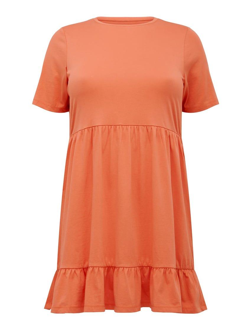 Ivy Curve Jersey Smock Dress