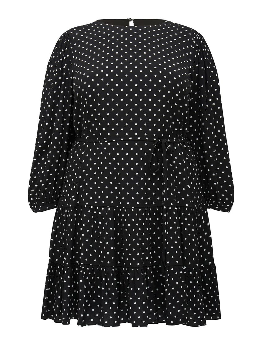 Pacey Curve Dropped Waisted Smock