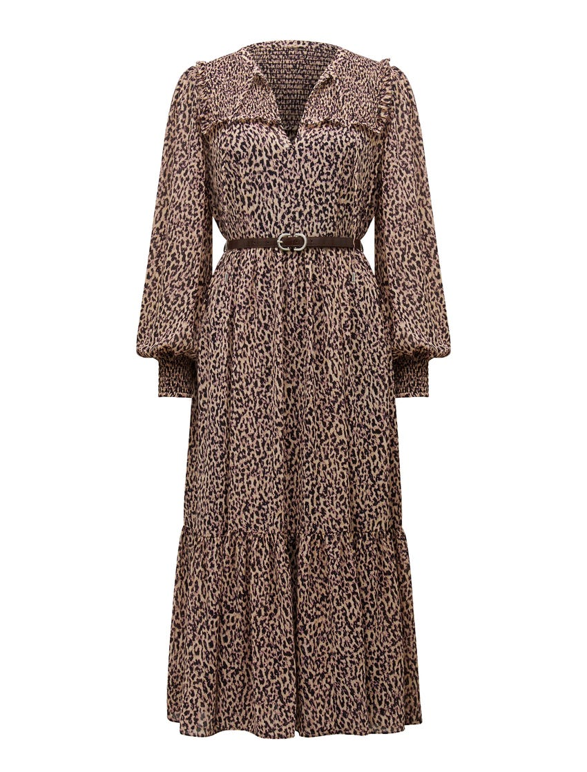 Tammy Tiered Midi Dress