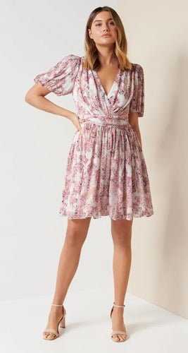 Millie Bubble Hem Mini Dress