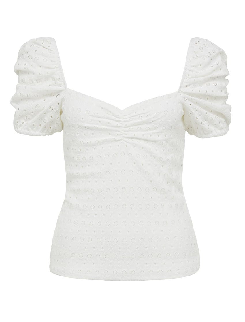 Mary Textural Josephine Top