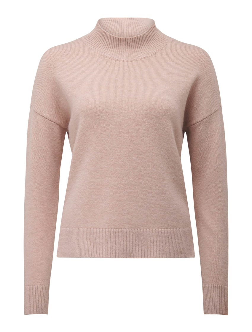 Riley Stand-Neck Essential Jumper