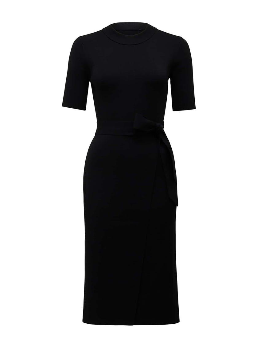 Skye Wrap Knit Dress