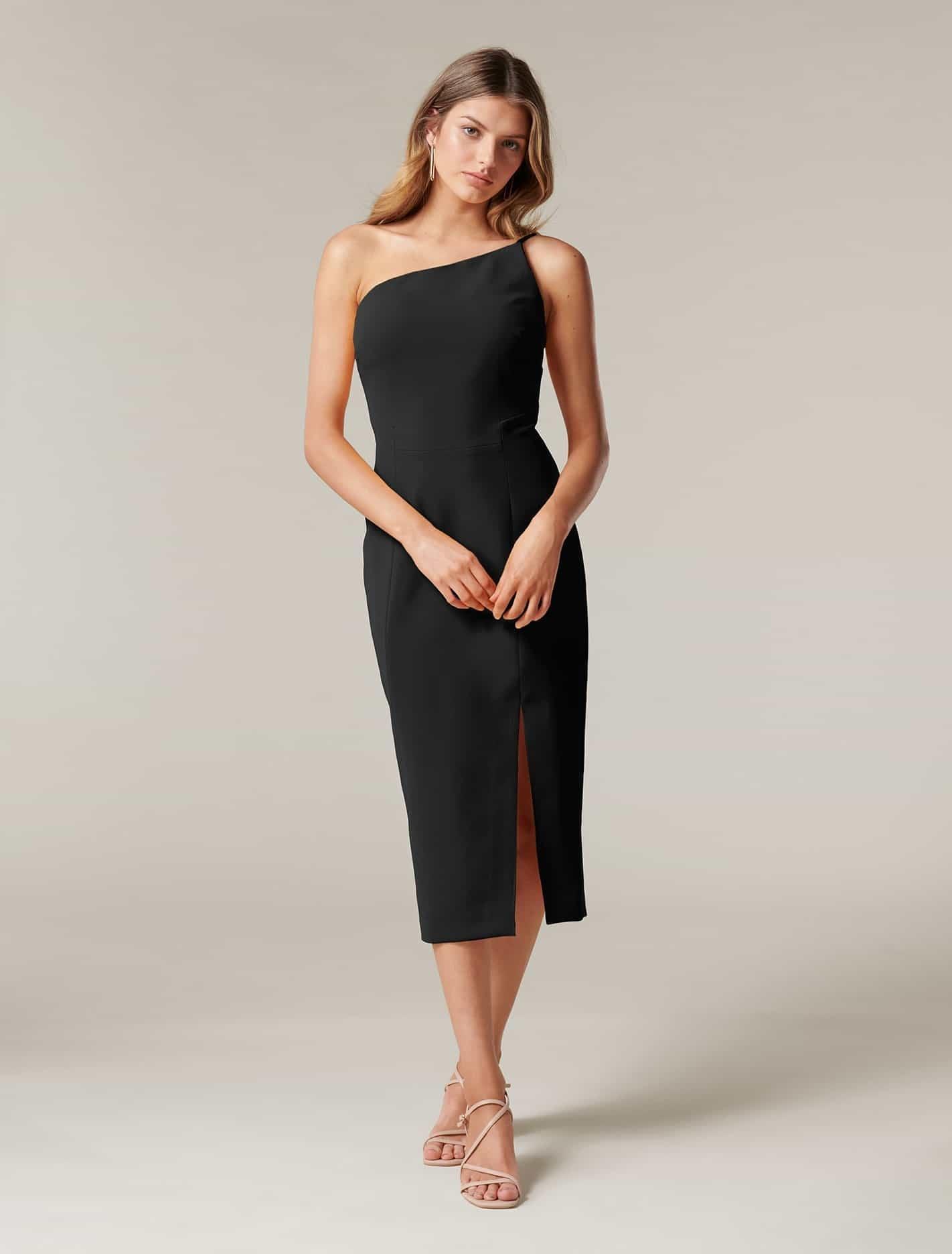 Forever New Black Cocktail Dress