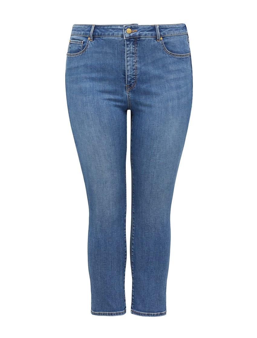 Hazel Curve High-Rise Slim Jean
