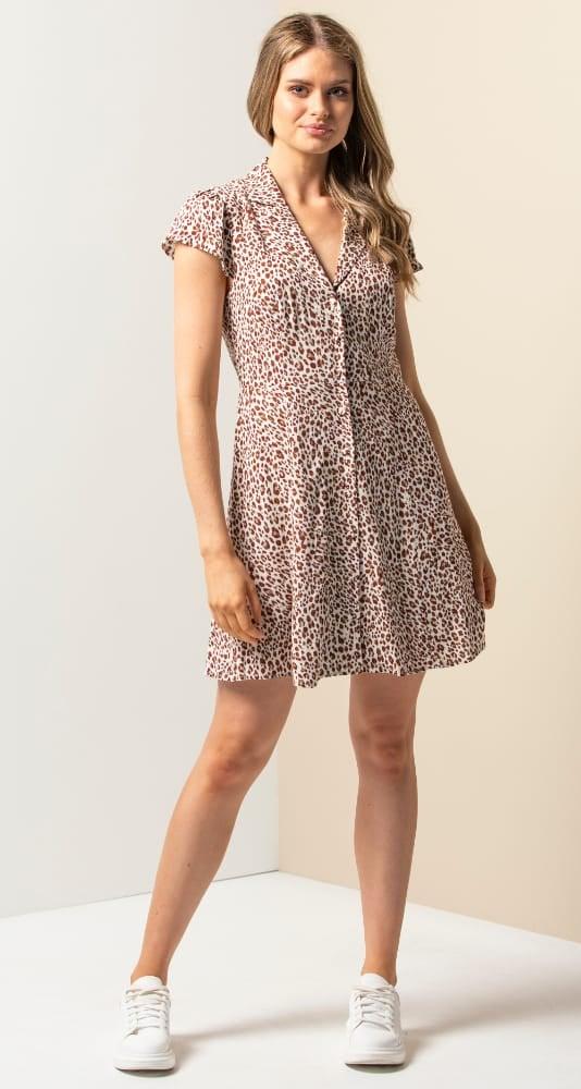 Bobbie Shirt Mini Dress