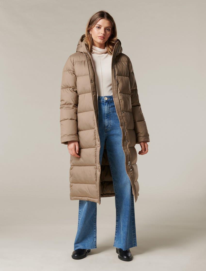 Natasha Long Puffa Jacket