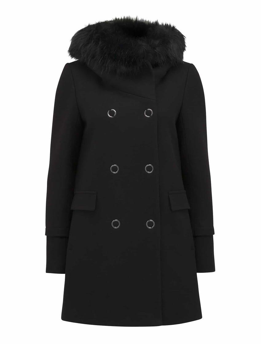 Trish Hooded Duffle Coat