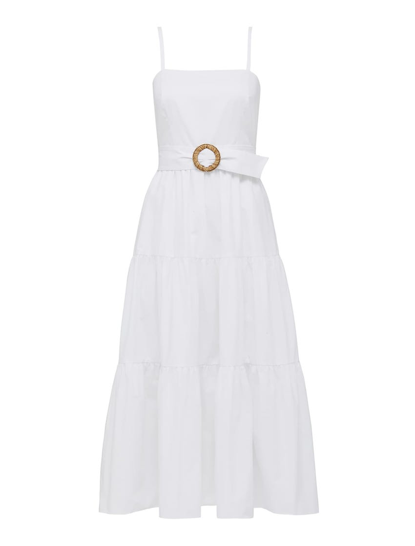 Dalia Cotton Maxi Dress