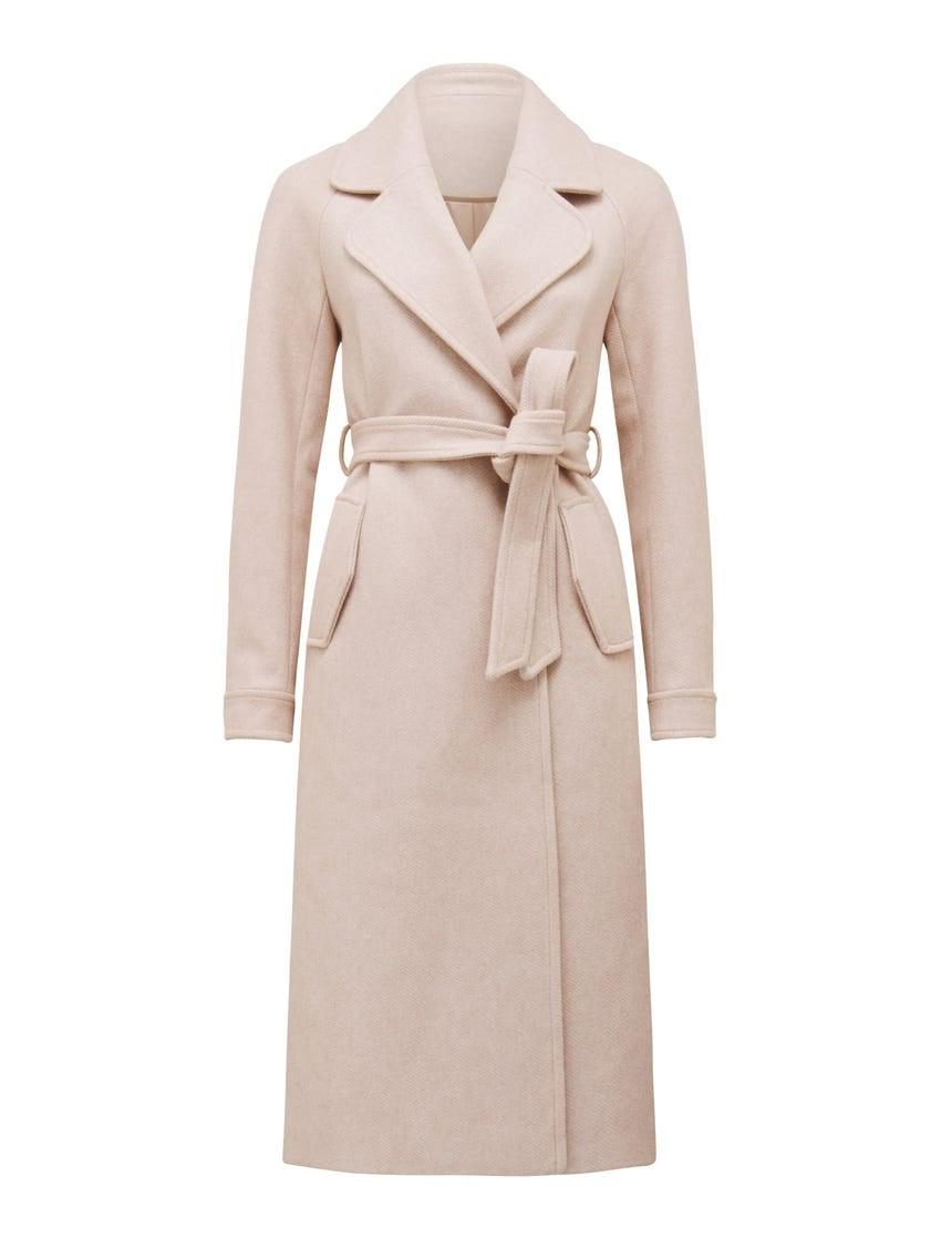 Jasmine Herringbone Coat