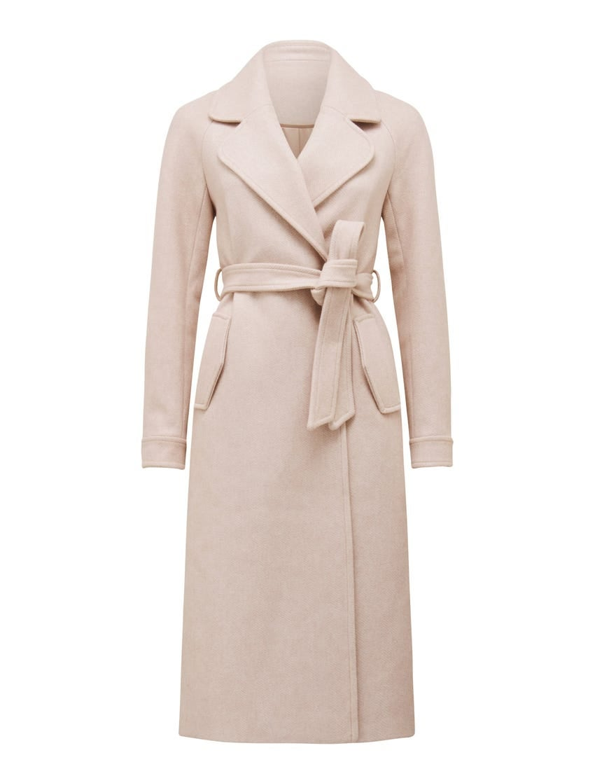 Jasmine Herringbone Coat
