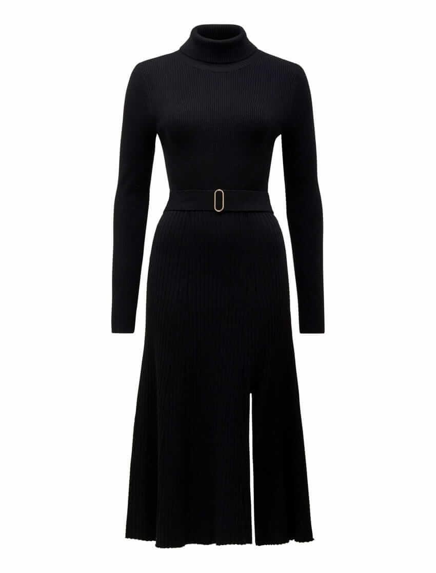 Stephanie Rib Knit Midi Dress