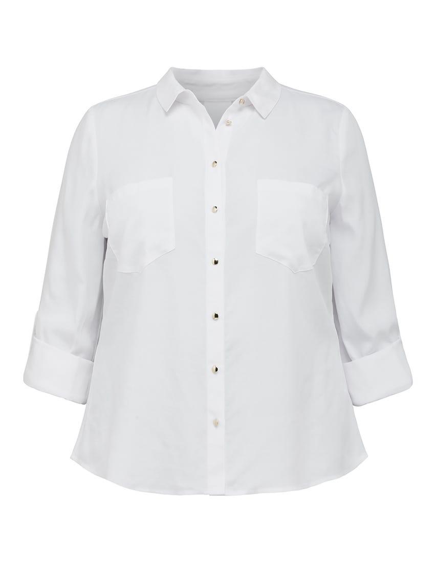 Delaney Curve Long-Sleeve Utility Shirt