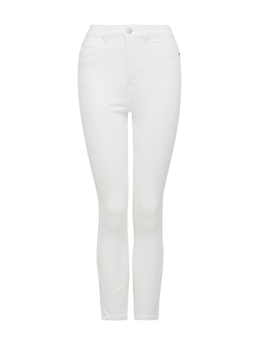 Olivia High-Rise Sculpting Crop Jeans