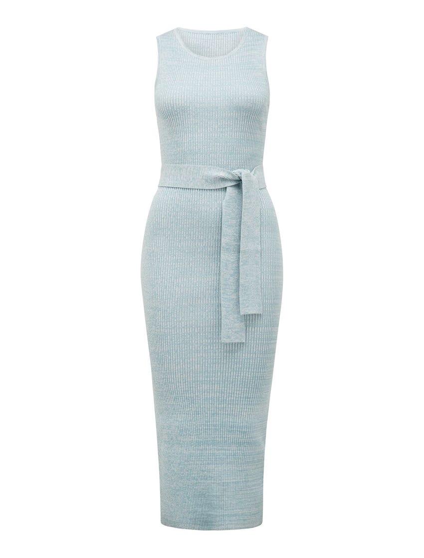 Alegra Column Midi Knit Dress
