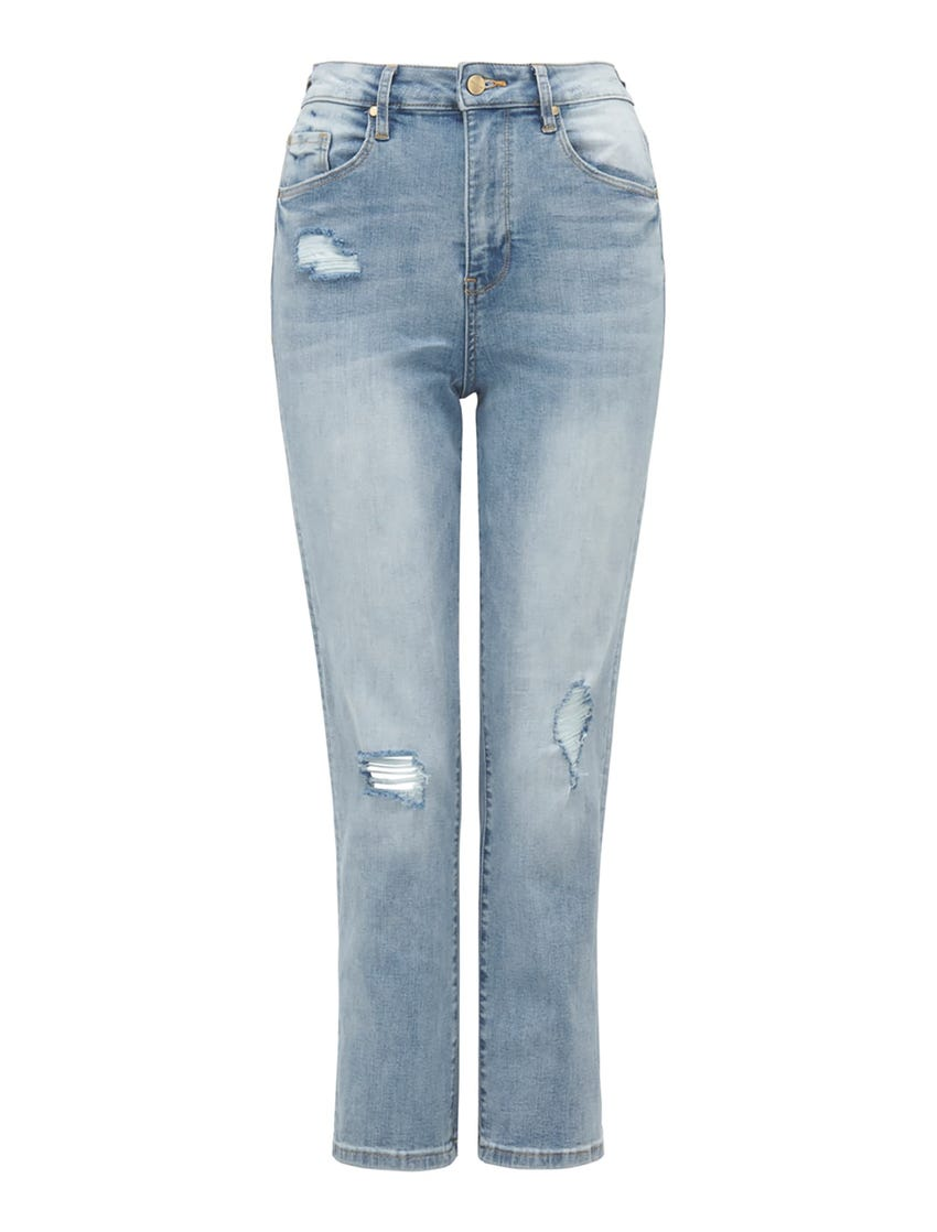 Bambi Mid-Rise Slim Jeans