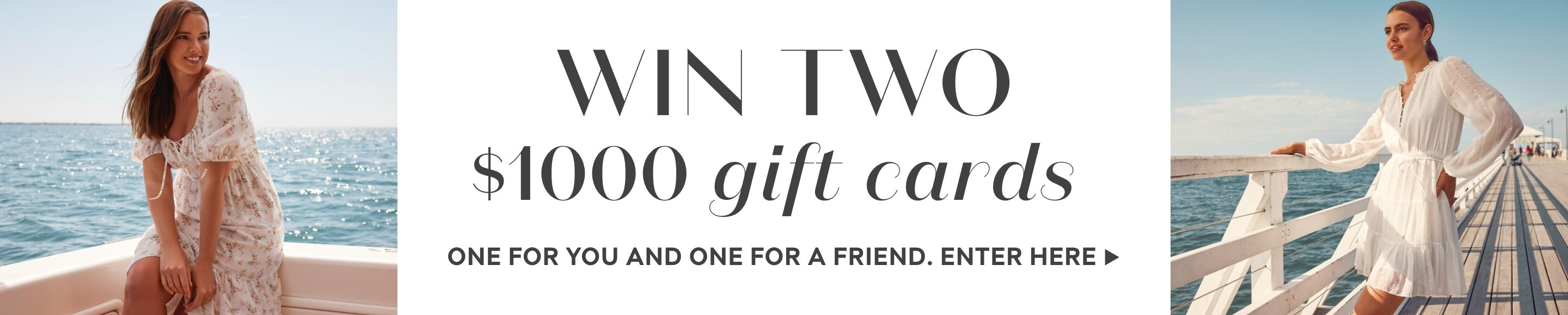 Forever New Win two gift cards competition