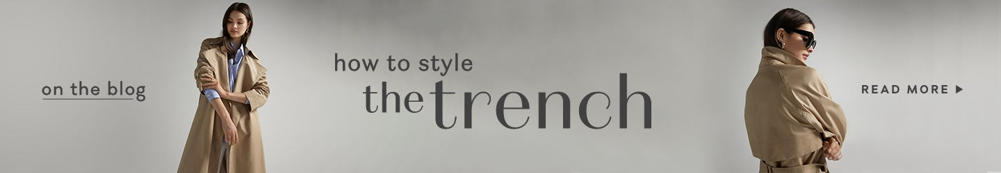 Forever New Blog - How to style the Trench Coat
