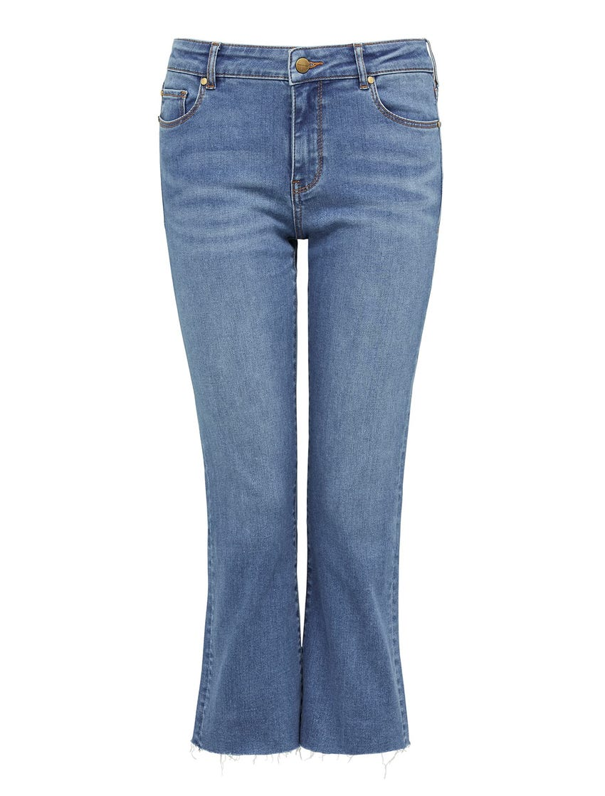 Camilla Mid-Rise Bootcut Jeans