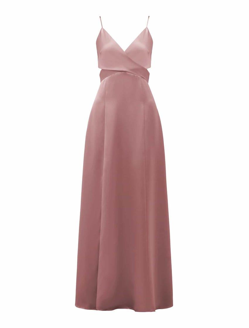Carley Strappy Wrap Maxi Dress