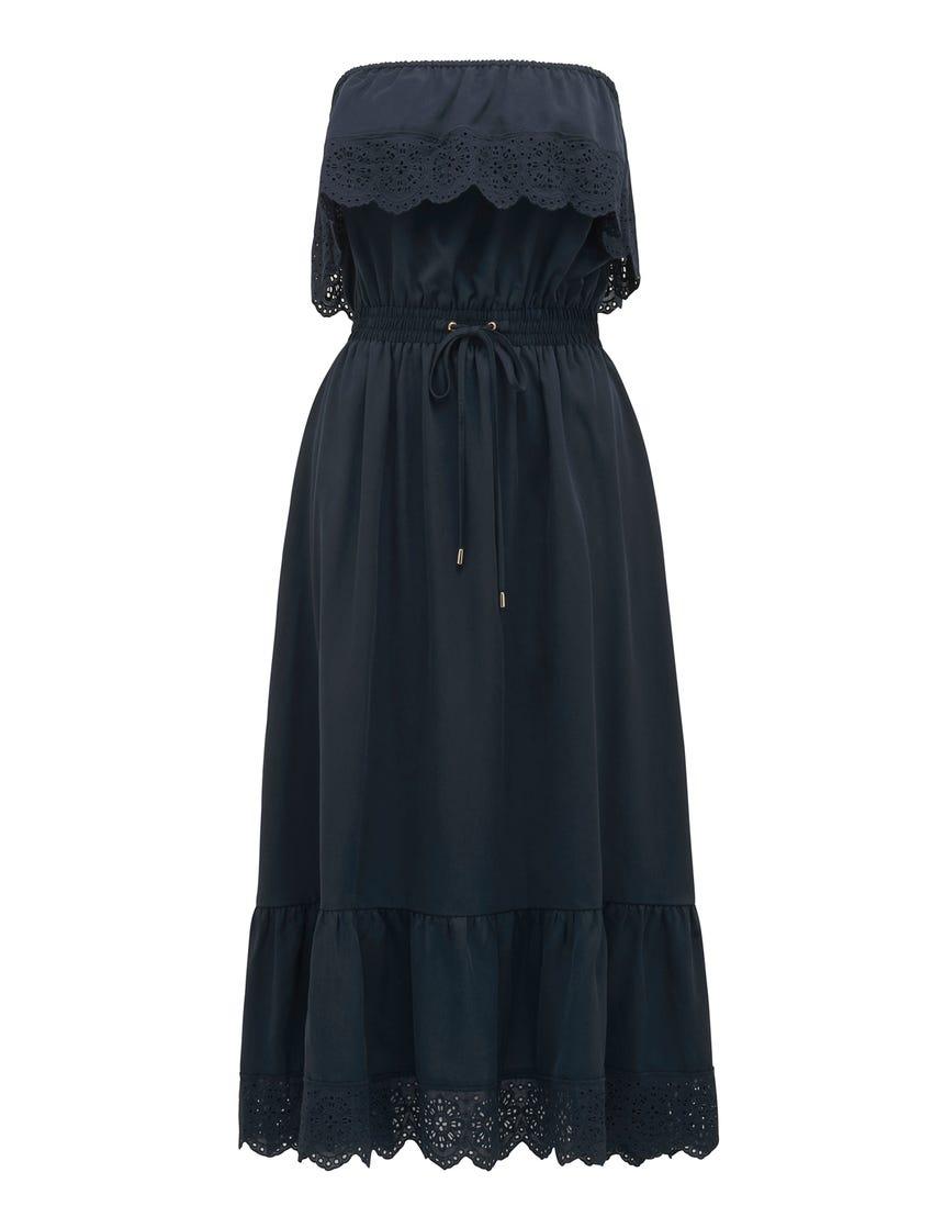Caroline Lace Midi Dress