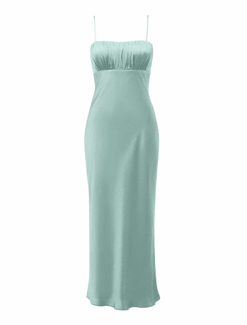 Christina Strappy Midi Dress