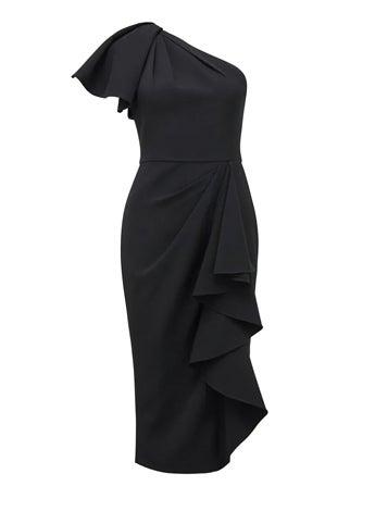 Bianca One-Shoulder Midi Dress