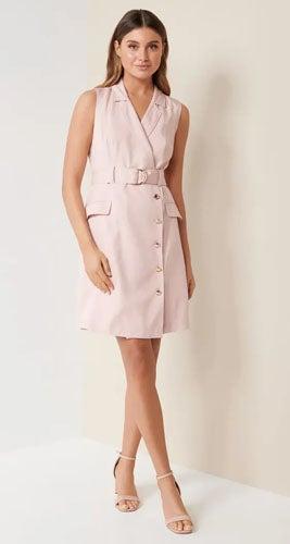 Cori Double-Breasted Dress