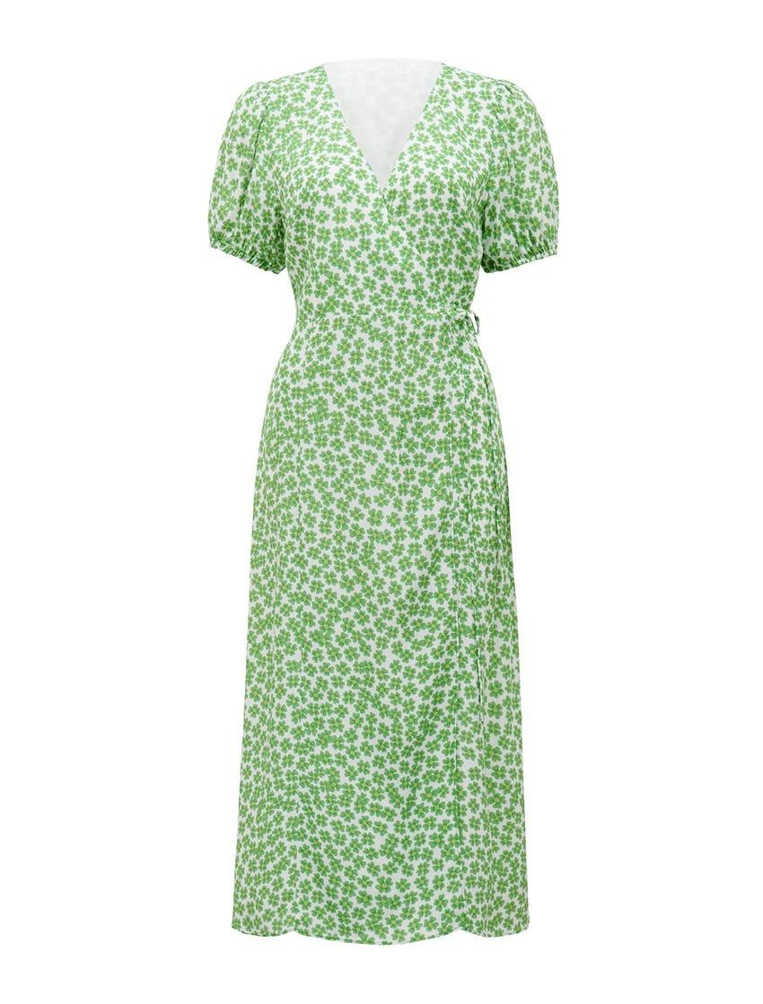 Daisy Wrap Midi Dress