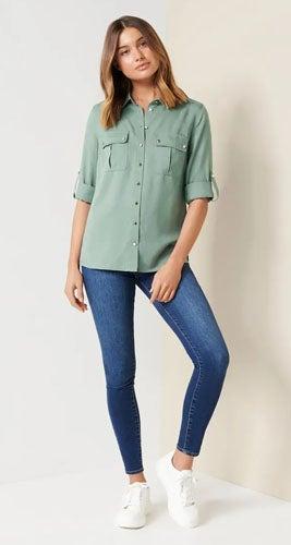 Eleni Utility Shirt