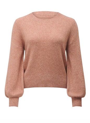 Elissa Blouson Sleeve Wool Jumper