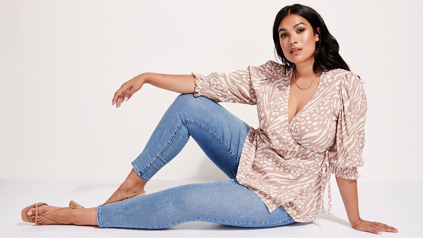 Woman wearing Curve Jeans