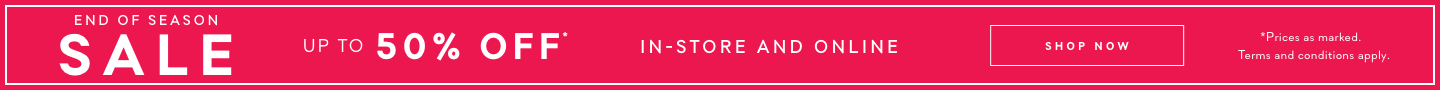 Forever New End of Season Sale up to 50% off