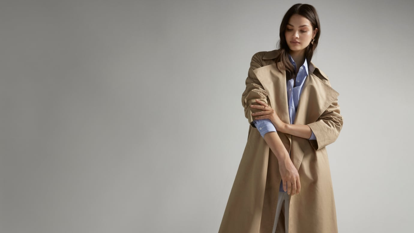 Blog - How to style a trench coat