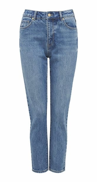 Isabel Mid-Rise Straight Jeans