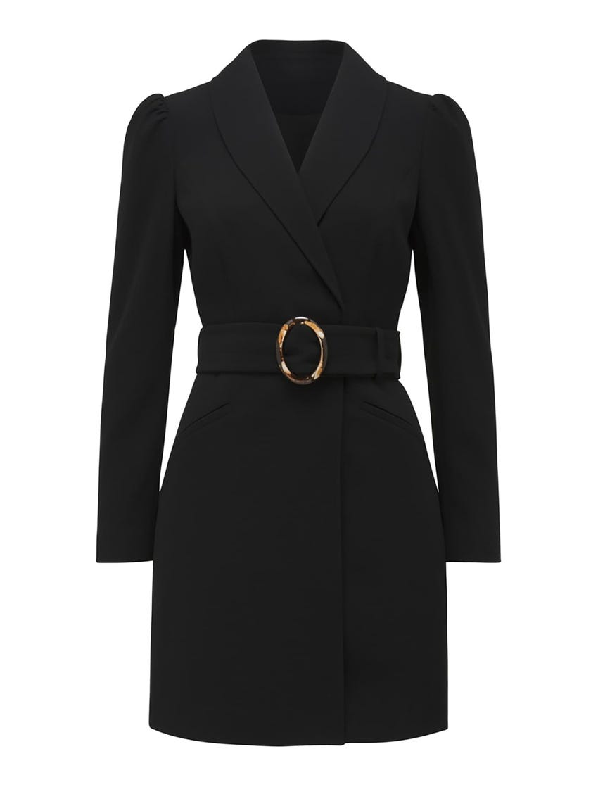 Monica Belted Blazer Dress