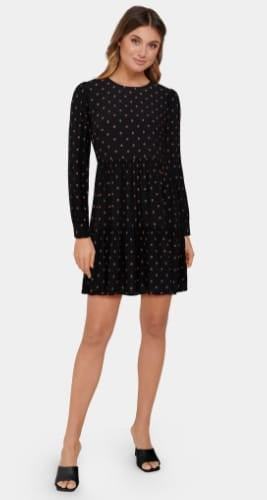 Demi Smock Mini Dress