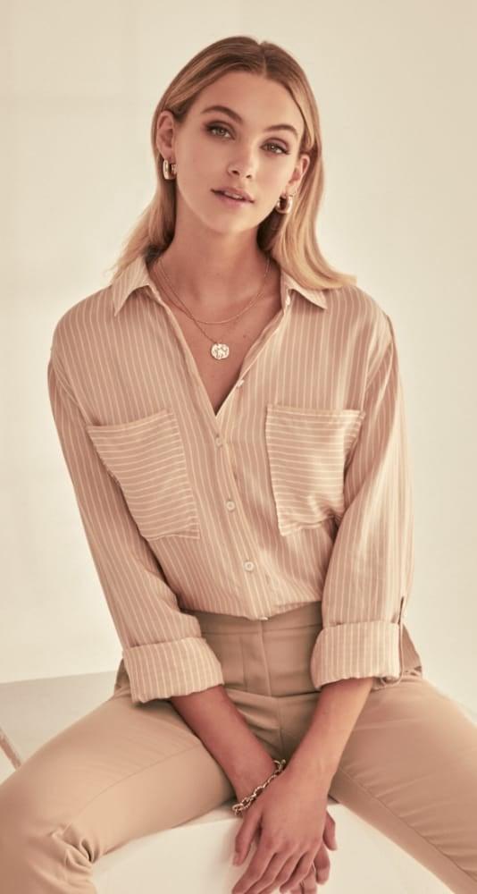 Adara Stripe Shirt