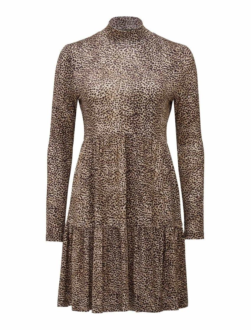 Sophie Long-Sleeve Smock Dress