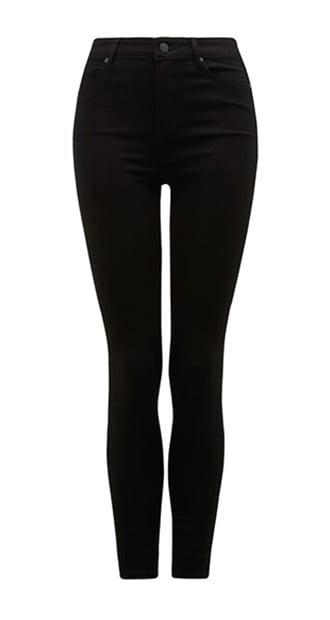 Zoe Mid-Rise Ankle Grazer Jeans